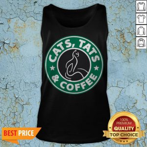 Nice Cats Tats And Coffee Tank Top