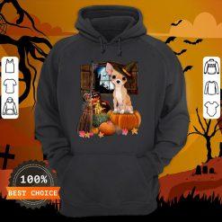 Nice Chihuahua Witch Halloween Hoodie