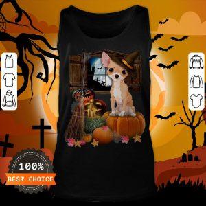 Nice Chihuahua Witch Halloween Tank Top