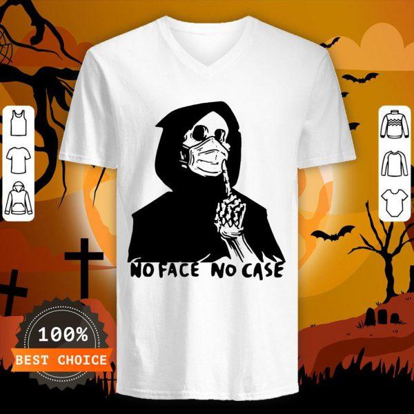 Official No Face No Case T-V-neck