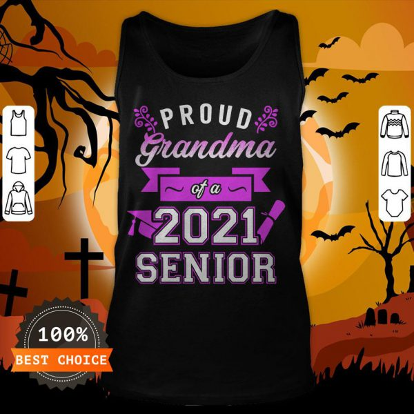 Proud Grandma Of A 2020 Senior Tank Top