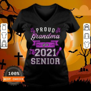 Proud Grandma Of A 2020 Senior V-neck