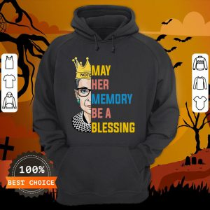 RBG May Her Memory Be A Blessing Hoodie