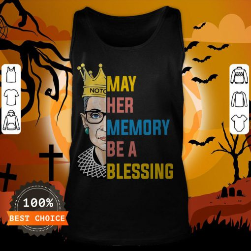 RBG May Her Memory Be A Blessing Tank Top