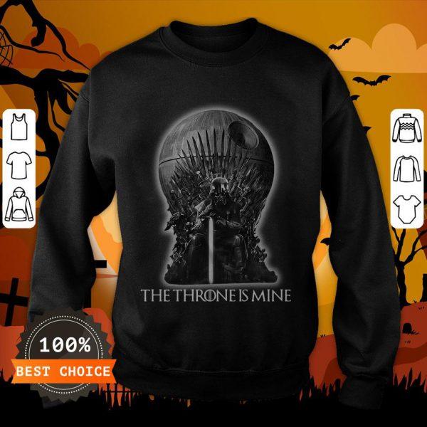 Star Wars Darth Vader The Throne Is Mine Sweatshirt
