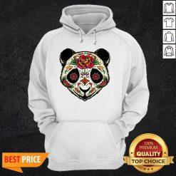 Sugar Skull Panda Dia De Muertos Day Of The Dead Hoodie