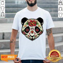 Sugar Skull Panda Dia De Muertos Day Of The Dead Shirt