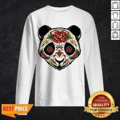 Sugar Skull Panda Dia De Muertos Day Of The Dead Sweatshirt