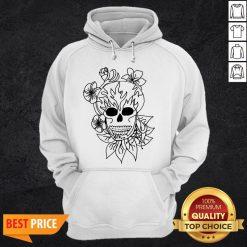 Sugar Skull - Plain Day Of The Dead Hoodie