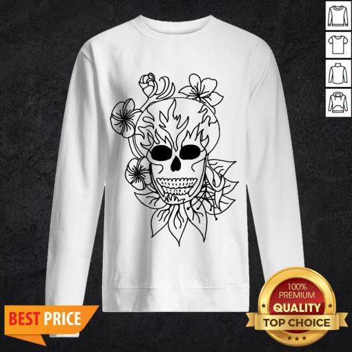 Sugar Skull - Plain Day Of The Dead Sweatshirt