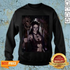 The Dark Princess With Skulls Day Of The Dead Dia De Los Muertos SweaThe Dark Princess With Skulls Day Of The Dead Dia De Los Muertos Sweatshirttshirt