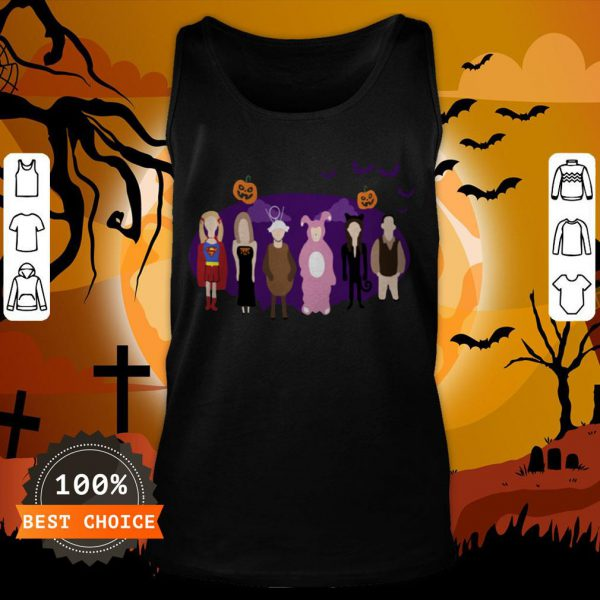 The One With The Halloween Party Unisex Tank Top