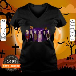 The One With The Halloween Party Unisex V-neck