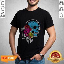 Thrice The Death Dia De Los Muertos Sugar Skull Shirt