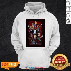 Chibi Horror Characters Grave Stompers Hoodie
