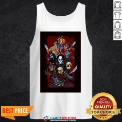 Chibi Horror Characters Grave Stompers Tank Top