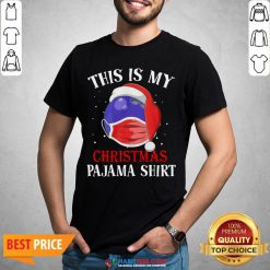 Cute Official This Is My Christmas Pajama Face Mask Shirt - Design By Habittees.com