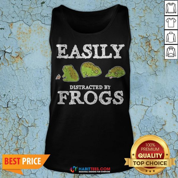 Easily Distracted By Frogs Tank Top