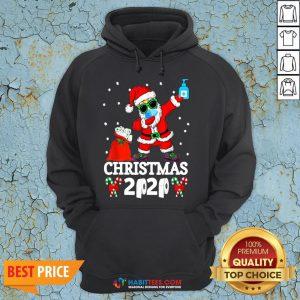 Great Santa Claus Dabbing Toilet Paper Christmas 2020 Hoodie - Design By Habittees.com
