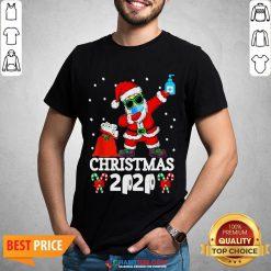 Great Santa Claus Dabbing Toilet Paper Christmas 2020 Shirt - Design By Habittees.com