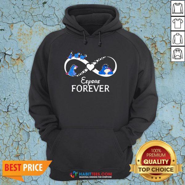 Top Infinity Eeyore Forever Hoodie- Design by Habittees.com