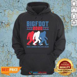 Bigfoot 2020 Make America Believe Again Hoodie- Design by Habittees.com