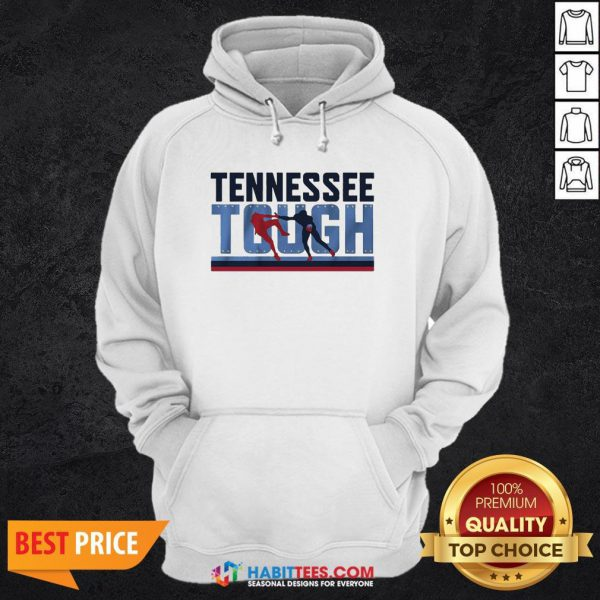 Awesome Tennessee Tough Hoodie- Design by Habittees.com