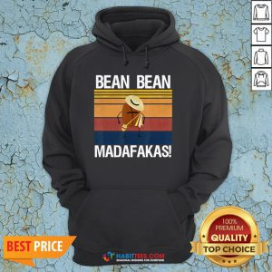 Coffee Bean Bean Madafakas Vintage Hoodie- Design by Habittees.com