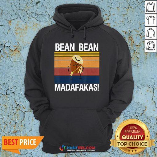 Coffee Bean Bean Madafakas Vintage Hoodie- Design by Habittees.com