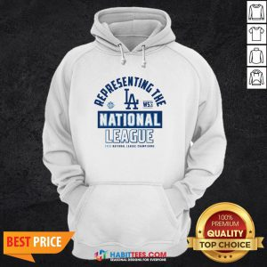 Dodgers NL West Champs 2020 Hoodie- Design by Habittees.com