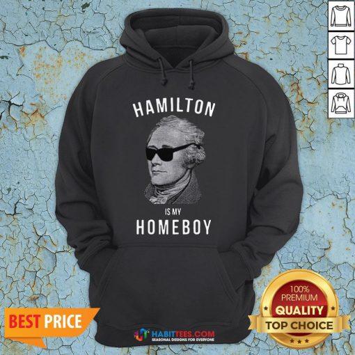 Premium Hamilton Is My Home Boy Hoodie- Design by Habittees.com