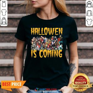 Horror Character Halloween Is Coming V-neck