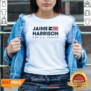 Jaime Harrison For Us Senate Classic V-neck