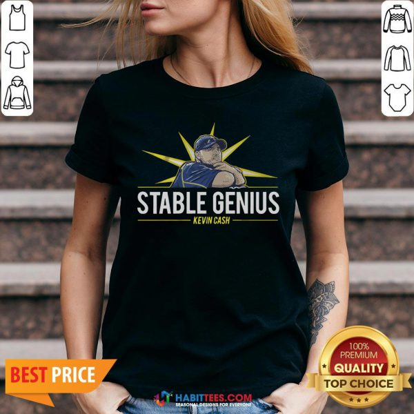 Kevin Cash Stable Genius V-neck