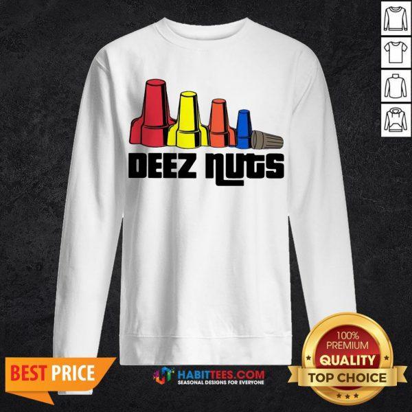 Office Deez Nuts Electrician Sweatshirt