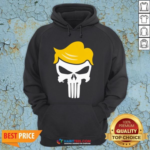 Office Funny Trump Punisher Hoodie