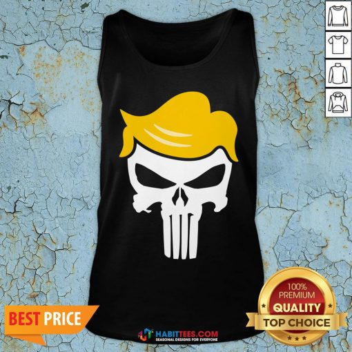 Office Funny Trump Punisher Tank Top