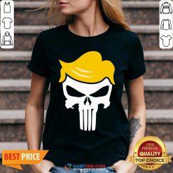 Office Funny Trump Punisher V-neck