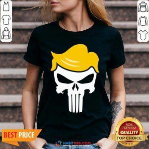 Office Funny Trump Punisher V-neck