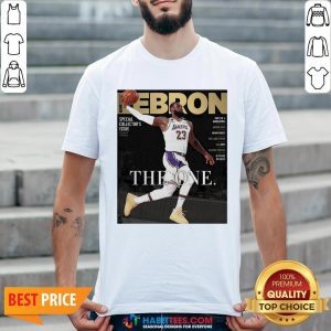 Official Lebron James The One Shirt
