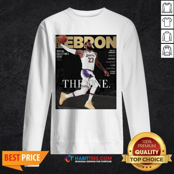 Official Lebron James The One Sweatshirt