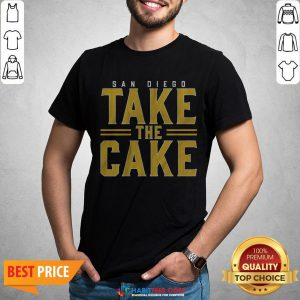 Official San Diego Take The Cake 2020 Shirt