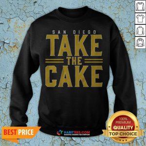 Official San Diego Take The Cake 2020 Sweatshirt