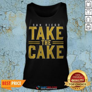 Official San Diego Take The Cake 2020 Tank Top