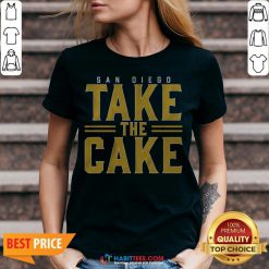 Official San Diego Take The Cake 2020 V-neck