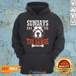 Official Sundays Are For The Dawgs Cleveland EST 1946 Hoodie