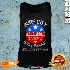 Official Surf City Trump Boat Parade Tank Top