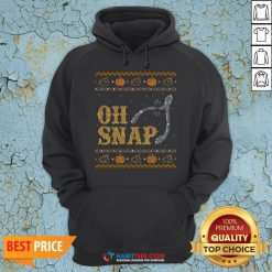 Perfect Oh Snap, Wishbone Ugly Thanksgiving Sweater Hoodie - Design By Habittees.com