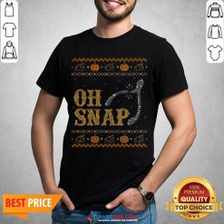 Perfect Oh Snap, Wishbone Ugly Thanksgiving Sweater Shirt - Design By Habittees.com