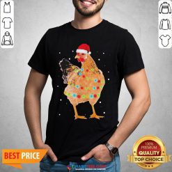 - Design By Habittees.comPremium Rooster Santa Christmas Sweat Shirt